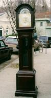 Antiques & Vintage Price Guide of Tall Case American Tiffany Art Deco grandfathers clock with Elliott movement