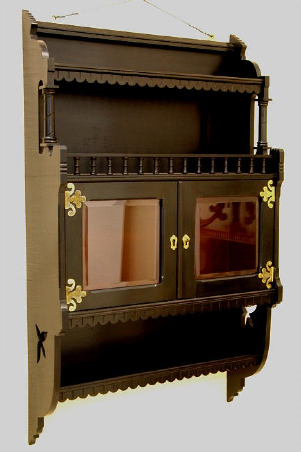 Kimbel and Cabus NY Aesthetic wall cabinet