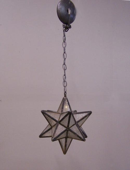 moravian star hanging leaded glass light fixture moravian star hanging. Black Bedroom Furniture Sets. Home Design Ideas