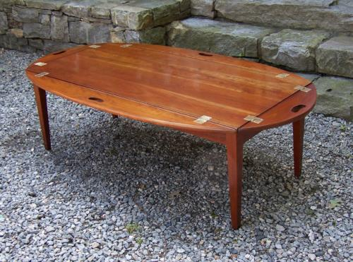 Cherry Butlers Tray Coffee Table C1950