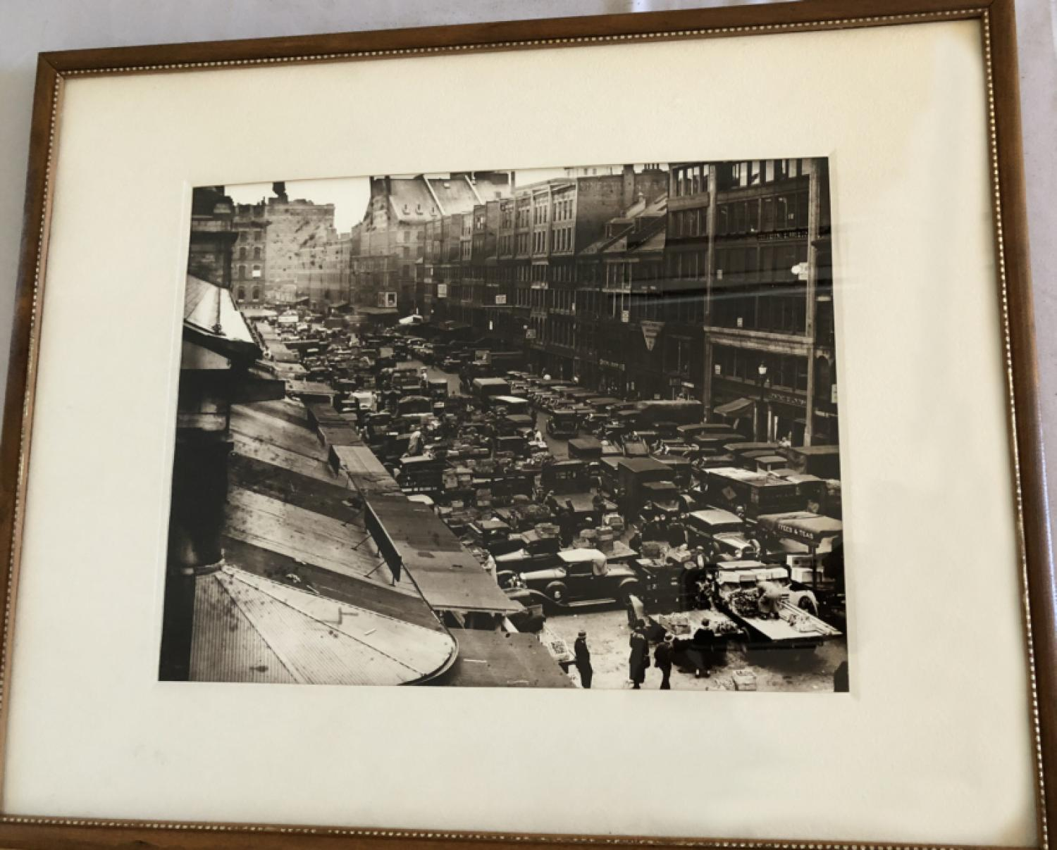 Vintage photo of Quincy Market by Gates and Tripp