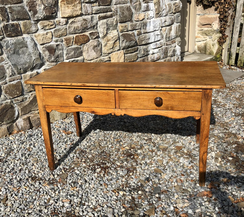 Irish farmhouse kitchen work table c1830