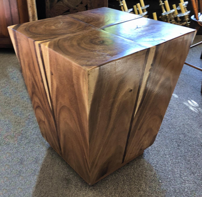Vintage mid century modern  cube table c1970