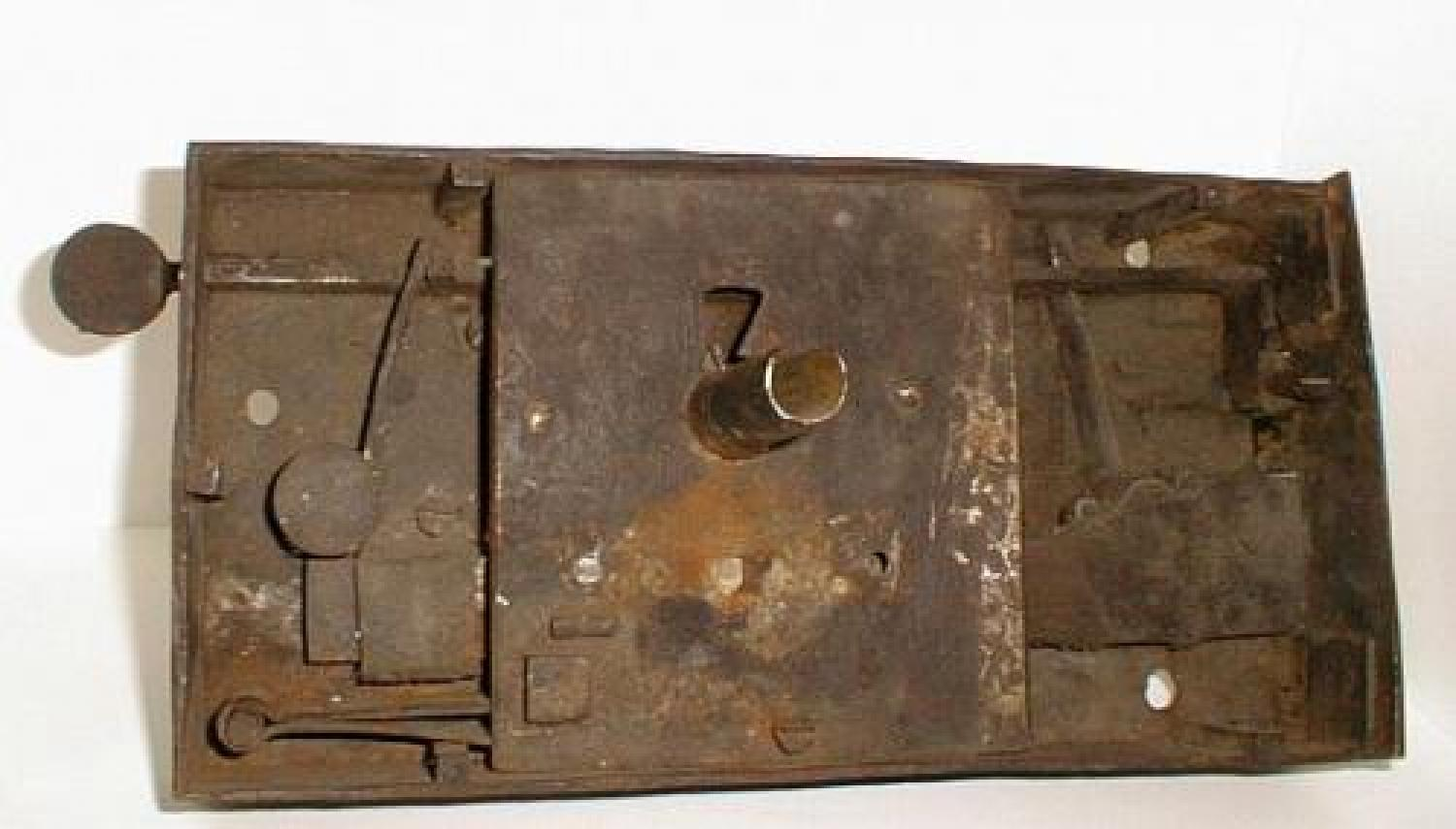 Early 18th century Antique French iron lock