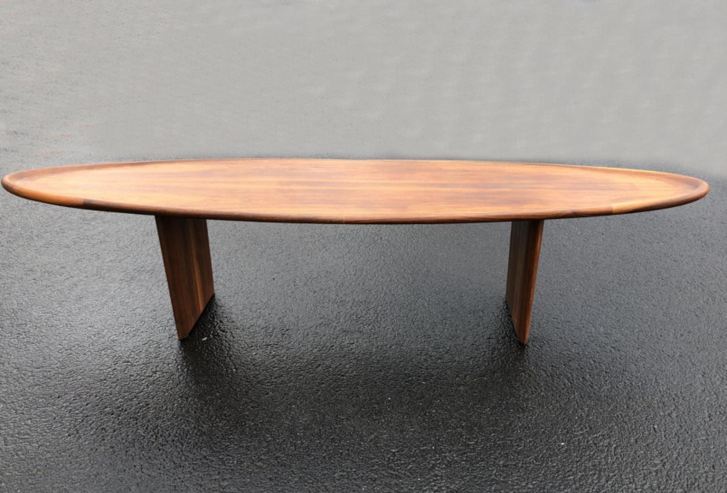 T H Robsjohn Gibbings Widdicomb mid century modern coffee table