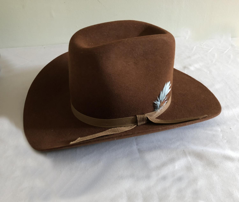 Vintage original Stetson Oilman sable hat