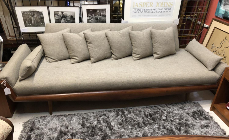 Adrian Pearsall vintage Gondola sofa