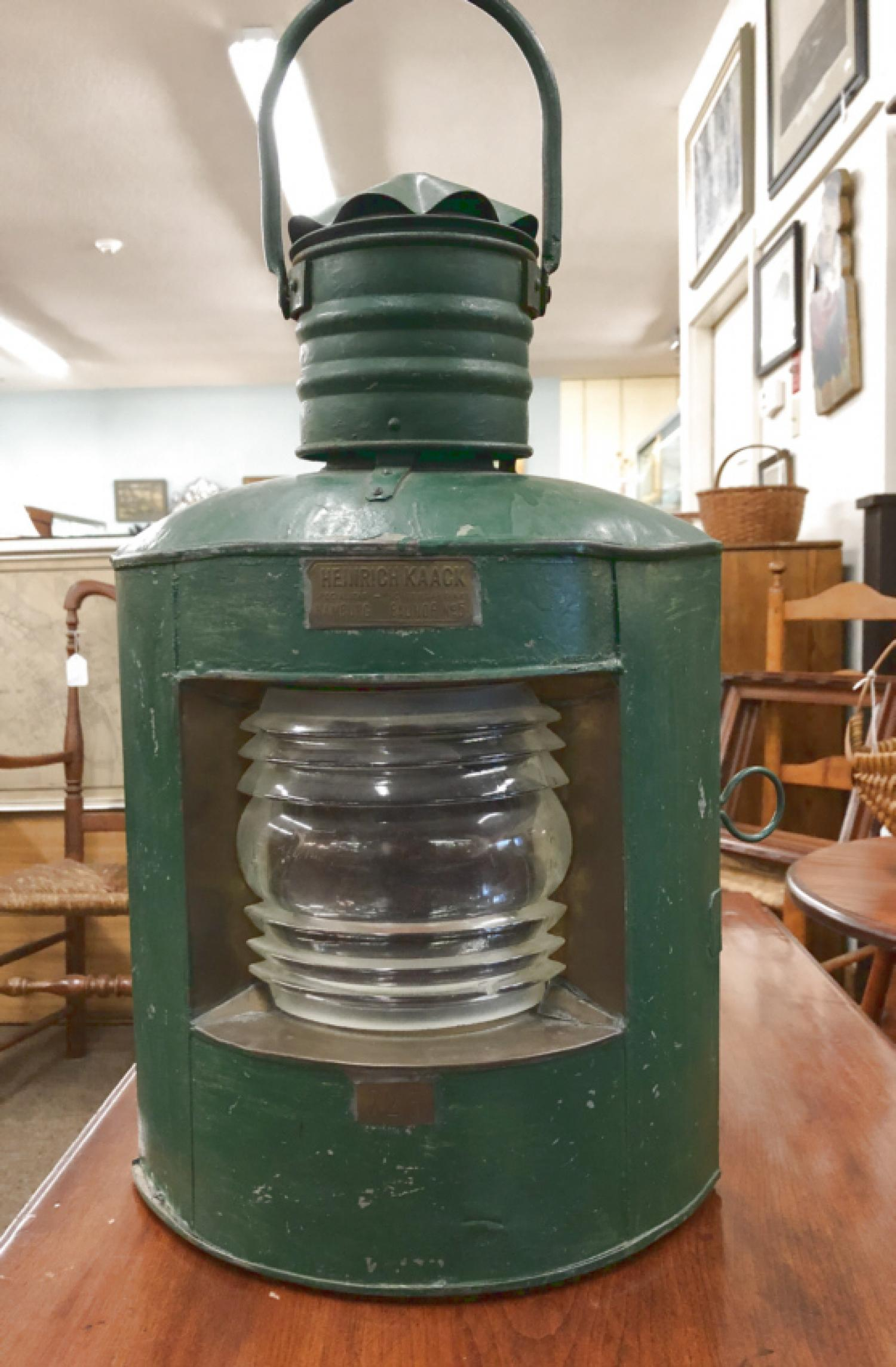 Heinrick Kaack Hamburg Bauhof 5 Lantern c1880