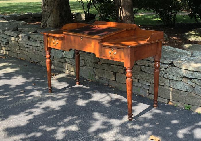 American cherry paymasters desk c1830
