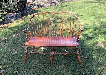 Image of Vintage D R Dimes New England Windsor settee