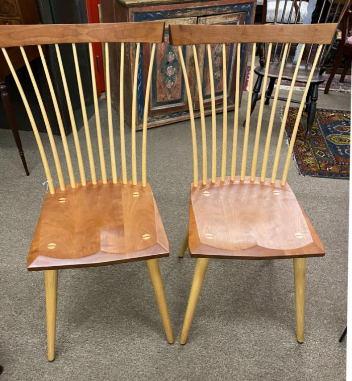Vintage Thos Moser side chairs