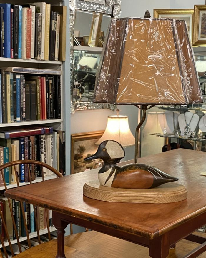 Duck desk lamp by Thomas L Chandler