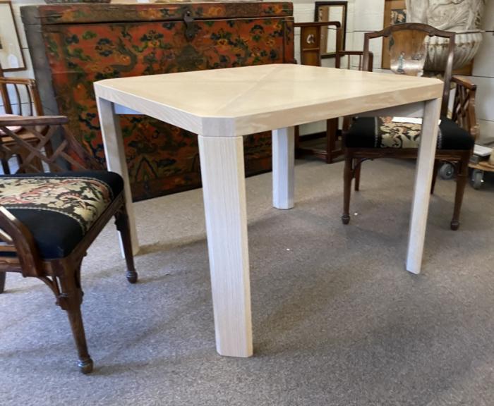 Modern fumed oak table by Jonathan Isleib