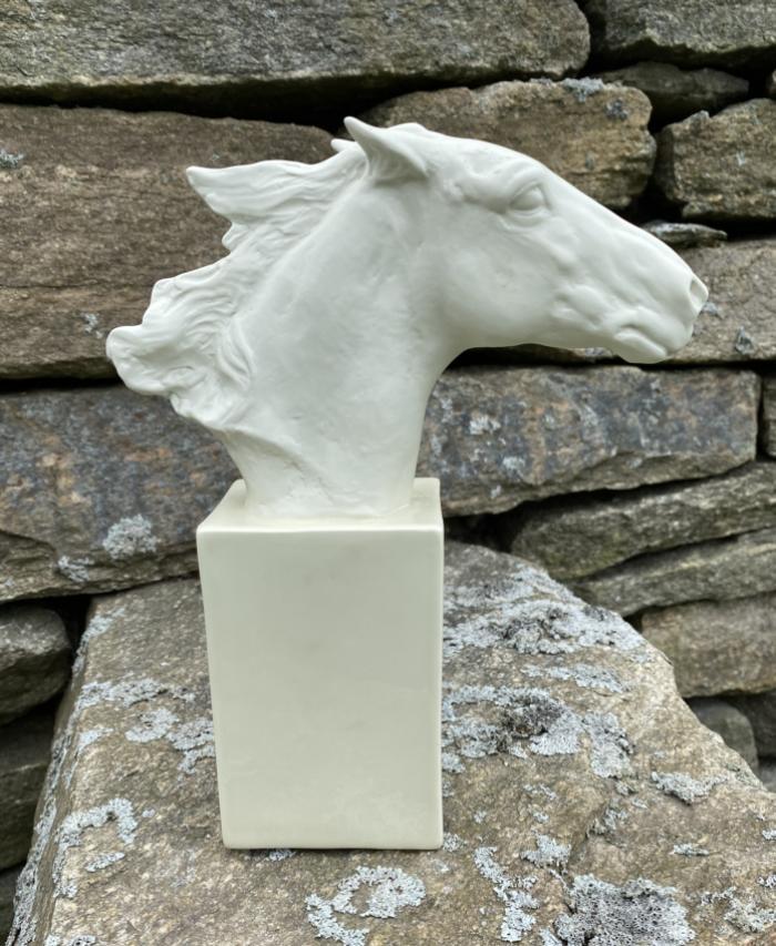 Rosenthal bisque horse Albert Hinrick Hussman 1957
