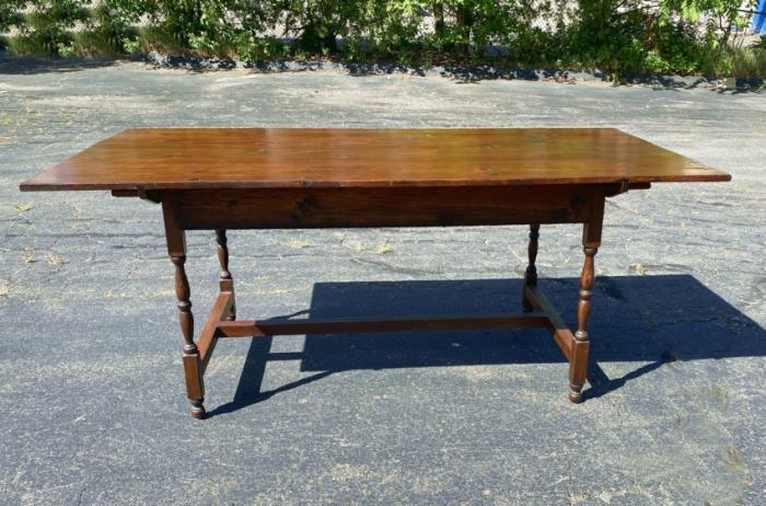 Stephen von Hohen hand crafted trestle table