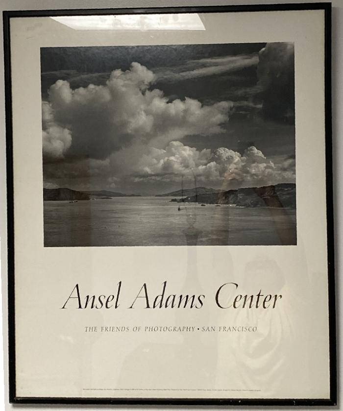 Ansel Adams poster San Francisco Before the Bridge 1932