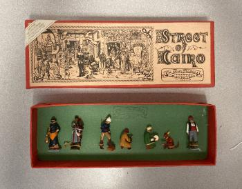 Image of Streets of Cairo painted lead figures set