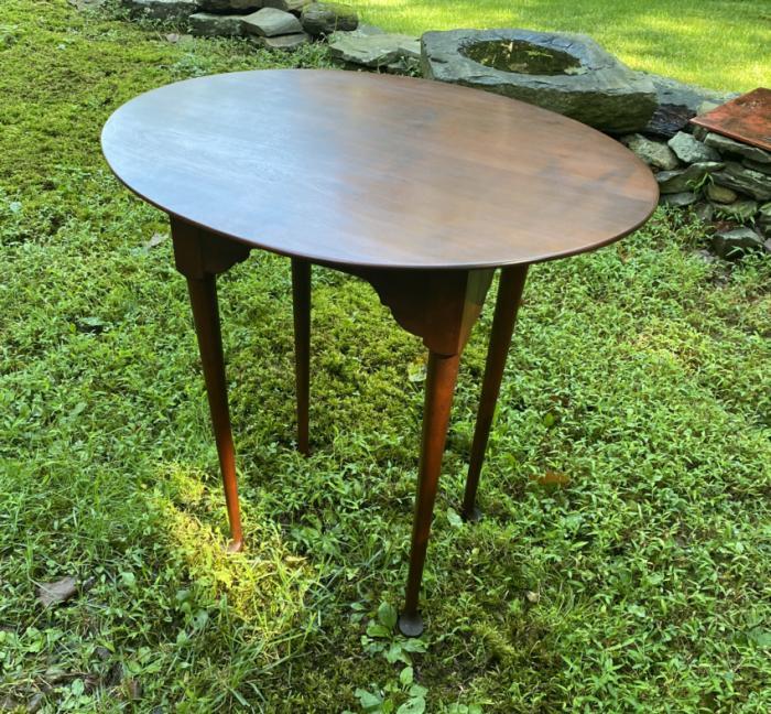Eldred Wheeler cherry Queen Anne tea table