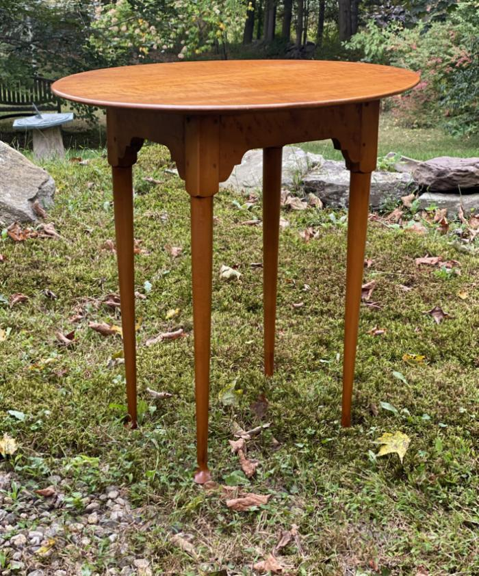 Eldred Wheeler small oval table