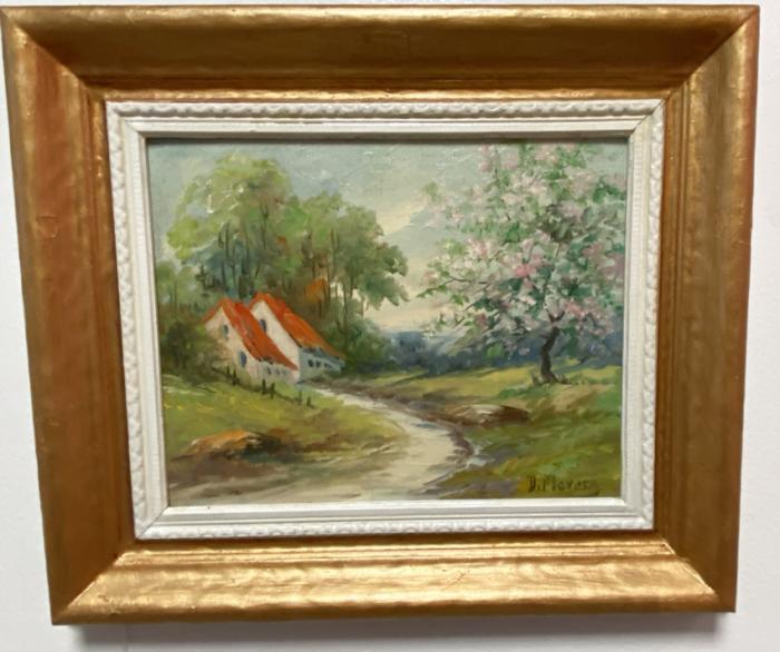D Flavens landscape oil painting