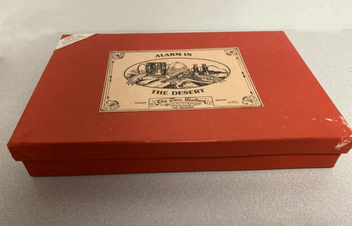 Alarm in the Desert toy soldier set by Four Feathers c1980