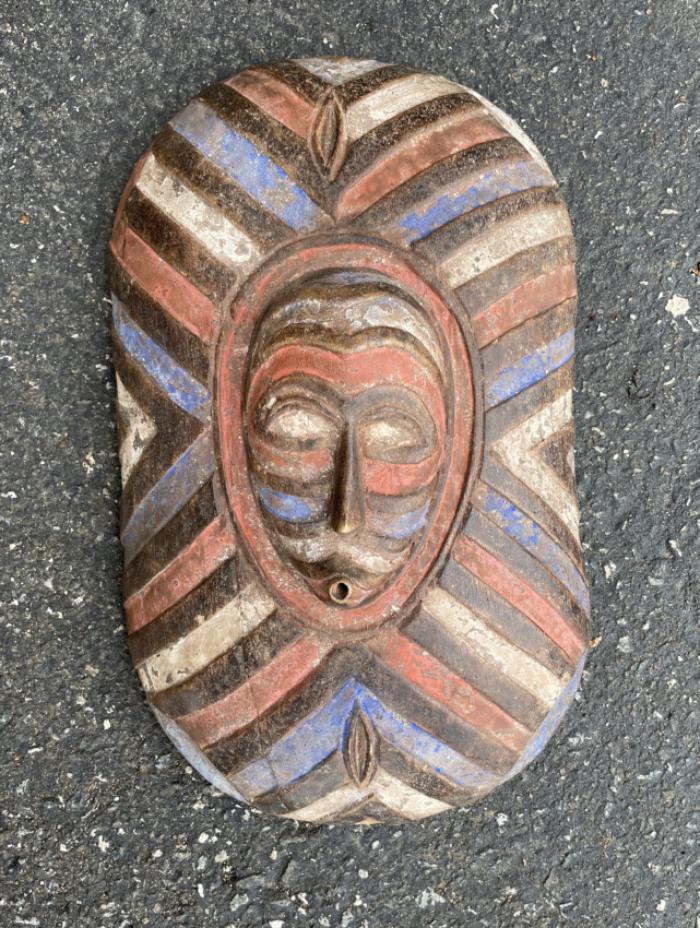 African tribal Songye shield