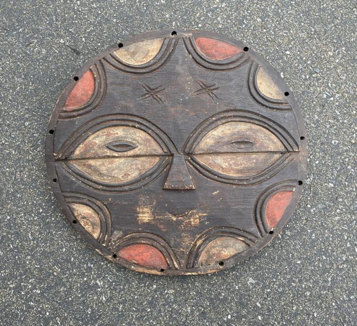 Vintage African Tribal Teke Kiduma Congo mask