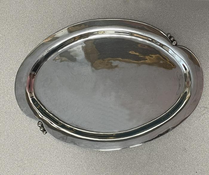 Mexican sterling cocktail tray by R Lopez