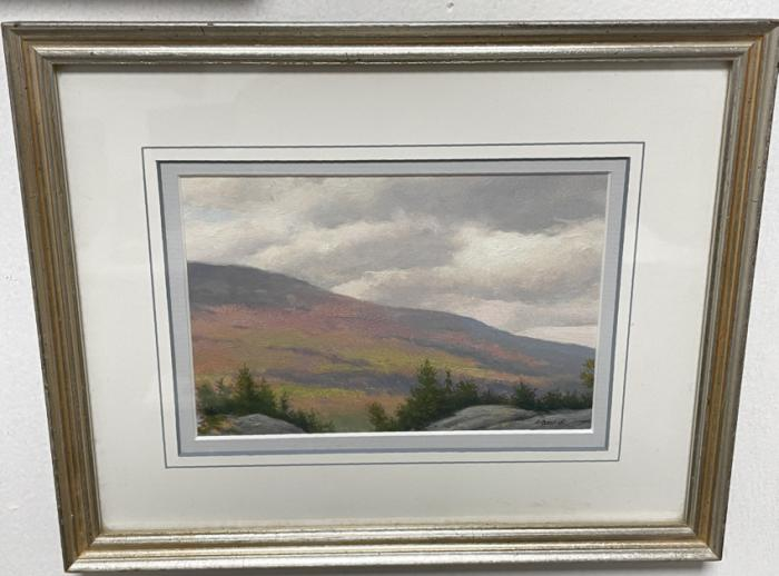 A Bross Jr oil landscape painting