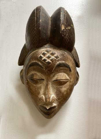 Image of Vintage Punu mask all original