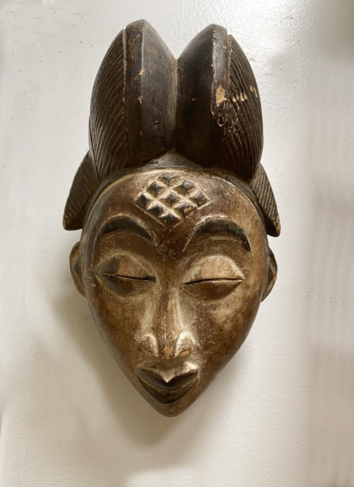 Vintage Punu mask all original