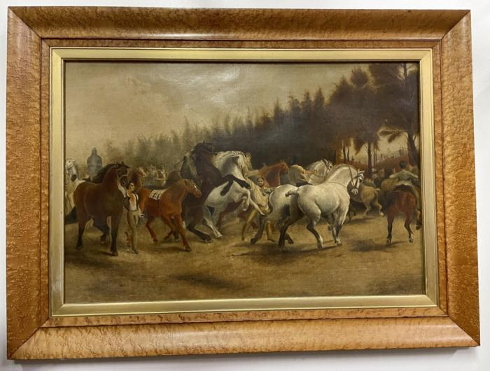 19th cent copy of Horse Fair by Rosa Bonheur