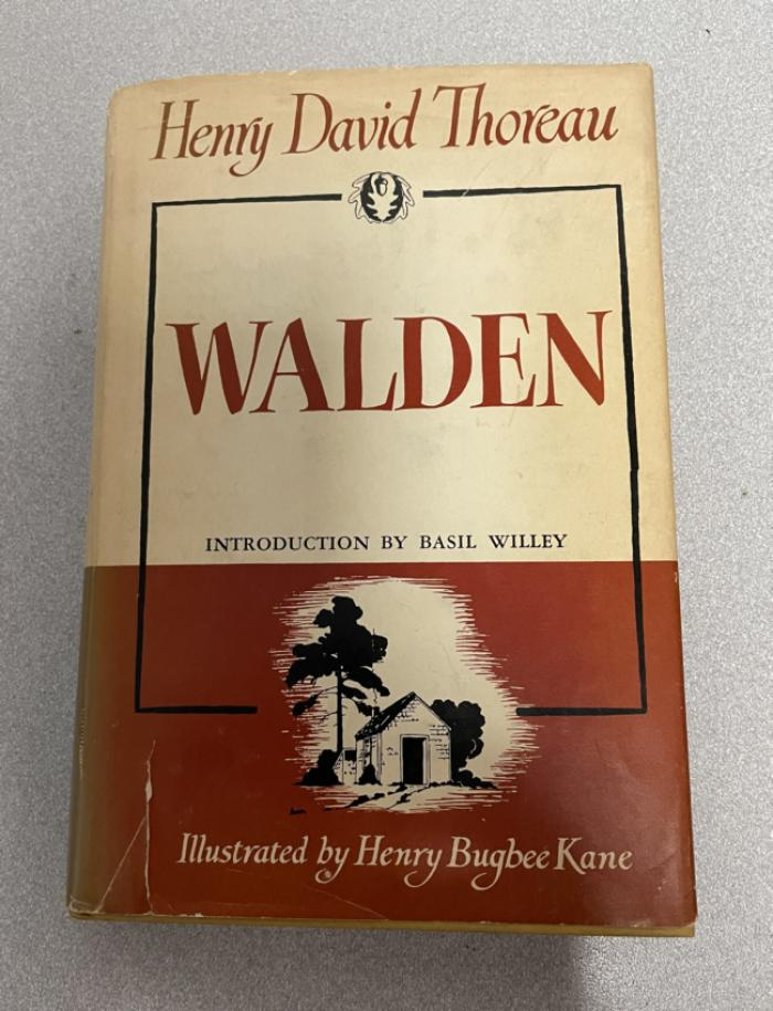 Walden by Henry David Thoreau 1951 edition