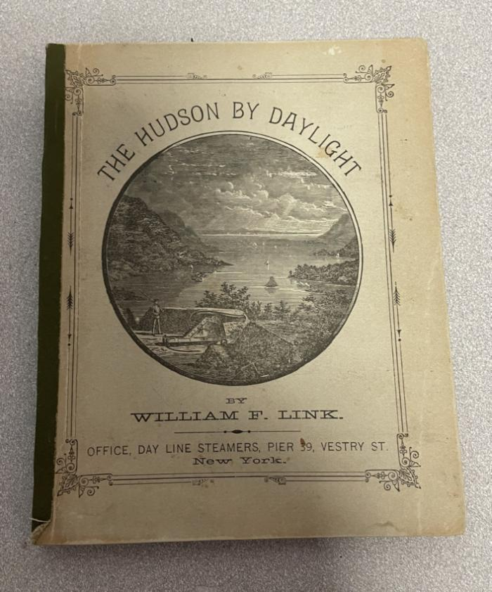The Hudson By Daylight Map published by William F Link 1878