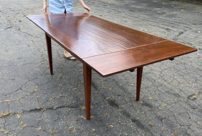 Vintage custom made Stephen von Hohen pine harvest table