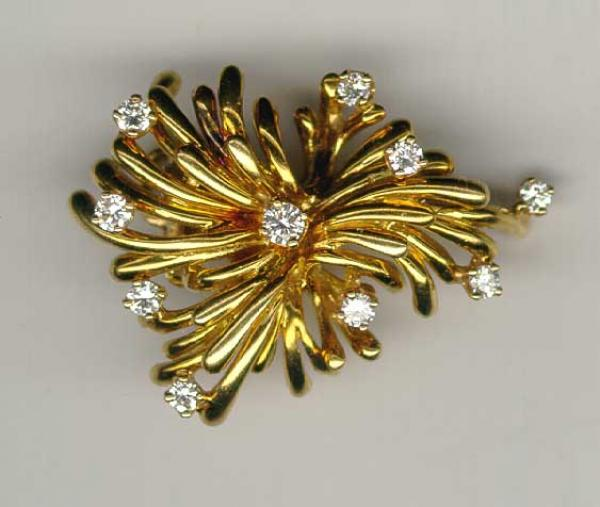 Price my item value of jewelry fine gold and diamond pin for Antique jewelry worth money