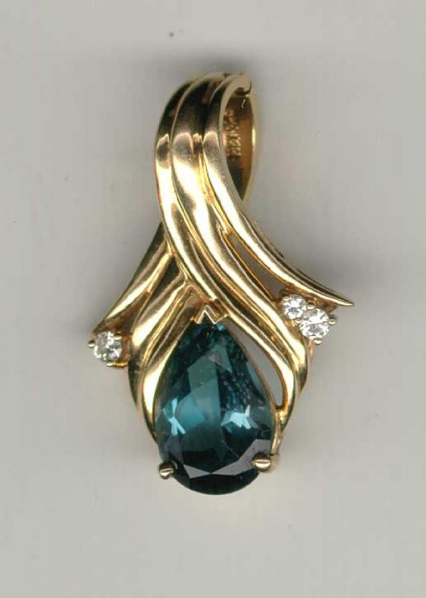 Price my item value of antique 14k gold jewelry blue for Antique jewelry worth money