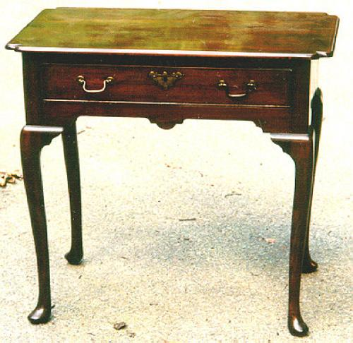 Period English Queen Anne Mahogany Lowboy