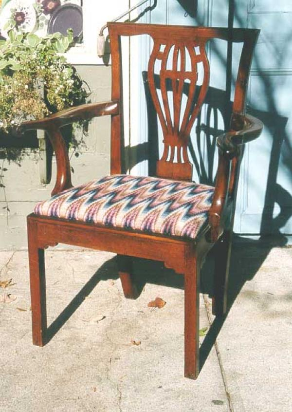 Price my item value of english furniture chippendale side for Furniture valuation guides