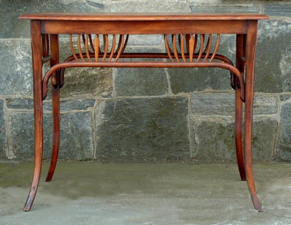 Price my item value of thonet bentwood art nouveau for Table thonet