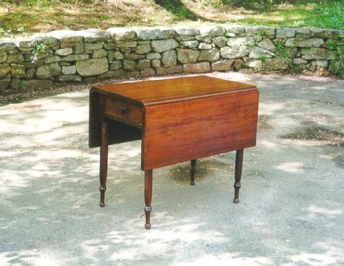Pennsylvania Walnut drop leaf pembroke table