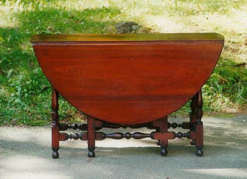Price my item value of antique furniture walnut drop leaf for Furniture valuation guides