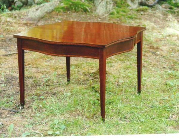 Price my item value of antique furniture hepplewhite for Furniture valuation guides