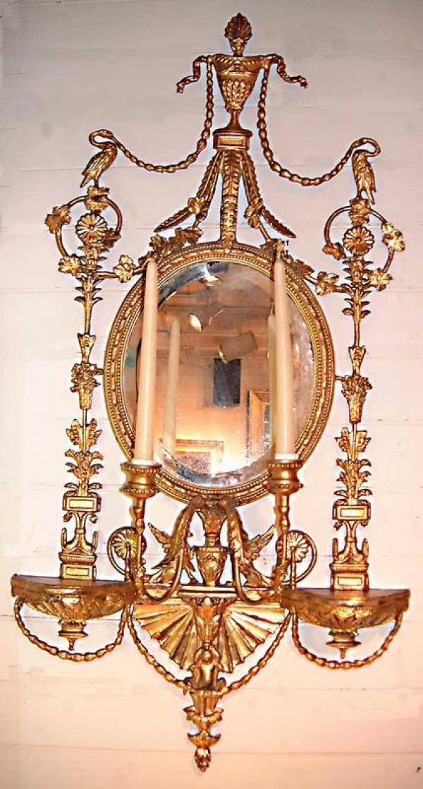 Price My Item: Value of Fine English Adams style gilt wood ...