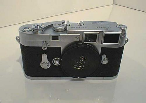 Vintage Leica camera m3 862 200 Wetzlar