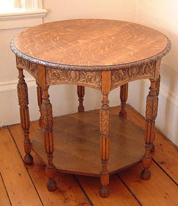 Price my item value of antique victorian carved oak for 1 oak las vegas table prices