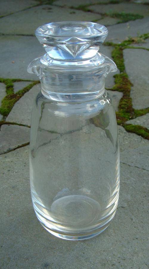 Steuben glassware cocktail strainer