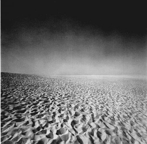 Cape Cod Black and White photograph by Harry Callahan