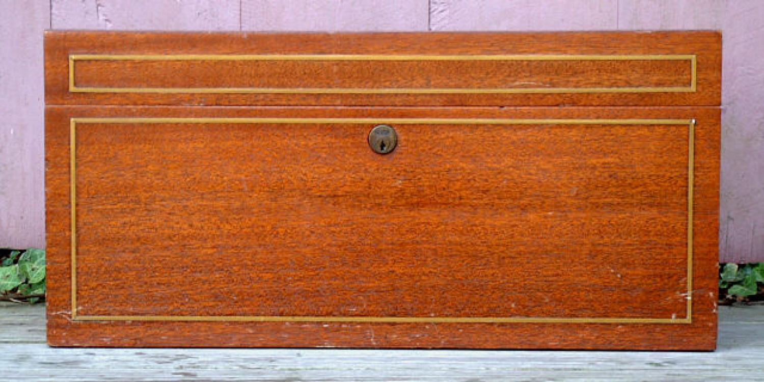 Antique Benson and Hedges Cigar Humidor circa 1900