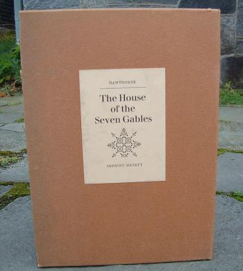 Image of The House of the Seven Gables book by Nathaniel Hawthorne